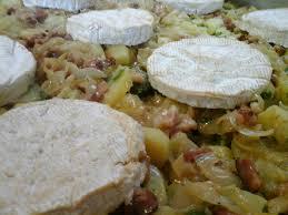 cuisine normande traditionnelle tartiflette normande au cidre et au camembert gratin