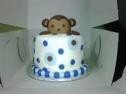 monkey cake topper bliss hawai i cake pops truffles llc mod monkey cake topper