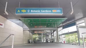 Botanic Garden Mrt Mrt Station Picture Of Singapore Botanic Gardens Singapore
