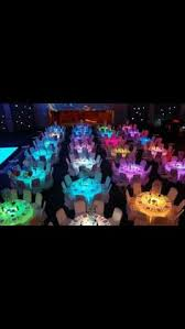 Sweet 16 Dinner Party Ideas I Love This Idea Wedding Lighted Tables Probably Would Pick