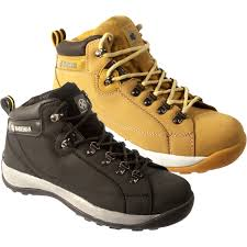 men safety work steel toe cap shoes trainers boot ankle size 6