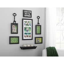 wall decor walmart com only at walmart product image mainstays 9 piece key expression wall frame set