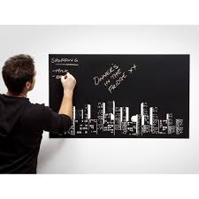 amazon com peel n stick huge removable blackboard sticker amazon com peel n stick huge removable blackboard sticker contact paper with chalk black board wall decor stickers office products