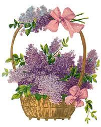 vintage easter baskets leaping frog designs free image easter basket png lilacs and pink