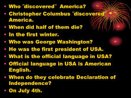 history of the usa ppt