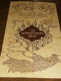 Marauder Map The Marauders Map From Poa Cutiepie1998 Flickr