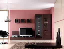 Darkwoodlivingroomwithpinkwalls HOME DECOR Pinterest - Wooden furniture for living room designs