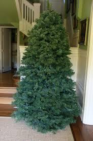 balsam christmas tree christmas lights decoration