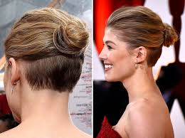undercut hairstyle female long fade haircut