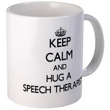 cafepress keep calm and hug a speech therapist mugs unique