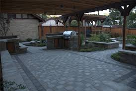 Backyard Patio Stones Backyard Stone Patio Designs Home Interior Decor Ideas