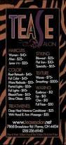 hair salon flyer offering discounts hair stylist salon my