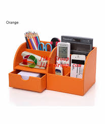 Desk Organizer Box Desktop Organizer Stationery Storage Box Pencil Holder For Office