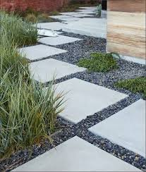 Large Pavers For Patio San Francisco 24x24 Concrete Pavers Patio Modern With Oak Tree For