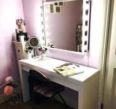makeup vanity desk with lights bedroom makeup vanity with lights