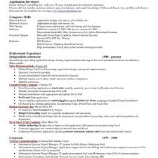 resume exle format resume excel format resume for your application with regard to