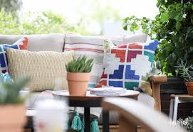 Summer Porch Decor by Colorful Summer Porch Styling Inspired By Charm