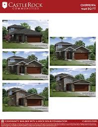 chippewa silver home plan by castlerock communities in talise de
