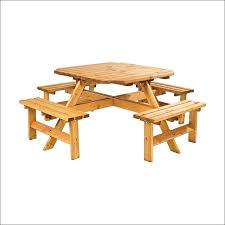 Picnic Table Plans Free Hexagon by Exteriors Garden Table Plans Free Heavy Duty Picnic Table Plans
