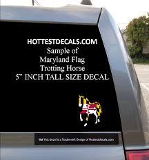 Maryland Flag Vinyl Maryland Crab Decal Sticker Hottest Decals Maryland Crab Sticker