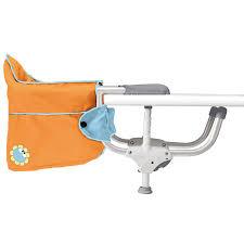 siege de table bebe siège de table chicco orange acheter ce produit au