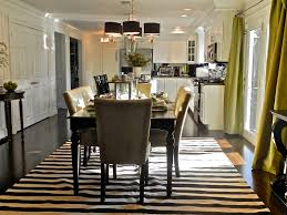 black and white dining room monochrome elegance 30 black and white striped rugs