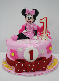 minnie mouse birthday cake minnie mouse cake for dalya s 1st birthday jocakes