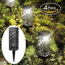Led Pathway Landscape Lighting Solar Lights Outdoor Garden Powered Path Lighting