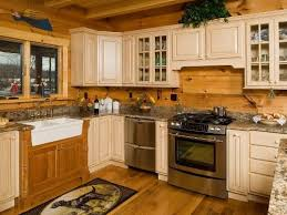 Log Cabin Kitchen Cabinets HBE Kitchen - Cabin kitchen cabinets