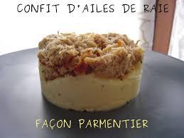 cuisine aile de raie au four confit d ailes de raie facon parmentier flagrants delices by