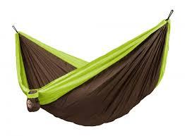 la siesta amaca colibri green travel hammock with suspension