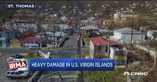 Us Virgin Island Flag Us Virgin Islands Governor Pleads For More Help After Hurricane Irma