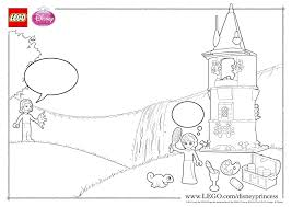 make rapunzel u0027s day colorful coloring page activities disney