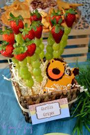 halloween baby shower food ideas 25 best jungle party snacks ideas on pinterest jungle theme