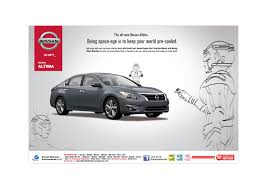 nissan altima remote start character design for nissan altima ad campaign nikhil rawat