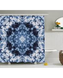 paisley shower curtain tie dye hippie print for bathroom