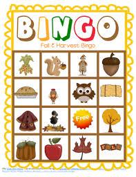free printable thanksgiving bingo cards happy thanksgiving