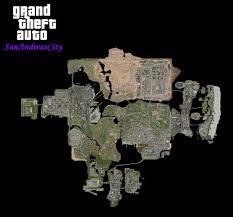 San Andreas Map Image Gta Sanandreas City Jpg Gta Wiki Fandom Powered By Wikia