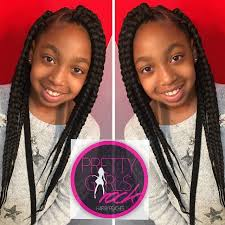 Braided Hairstyles With Weave Best 25 Kids Box Braids Ideas On Pinterest Natural Kids