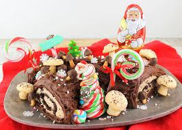 cuisine de de noel bûche de noël yule log cake bakingbloggers