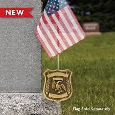 bronze grave markers custom deluxe bronze grave marker for officer
