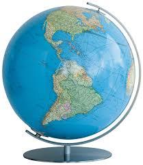 World Globe Map Columbus World Globe Duo
