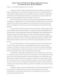 English Example Essay Brilliant Ideas Of Self Essay Examples Also Form Sioncoltd Com