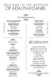 Order Wedding Programs Civil Ceremony Order Of Service Google Search Wedding Ideas