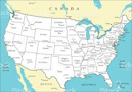 united states map with popular cities major cities of america usa map with states and major