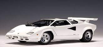 all white lamborghini autoart lamborghini countach 5000 s white 74532 in 1 18 scale