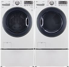 Samsung Pedestals For Washer And Dryer White Lg Wm3570hwa 27 Inch 4 3 Cu Ft Front Load Washer With 12 Wash