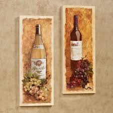 interior design simple wine themed wall decor nice home design
