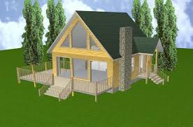 cabin plans with basement 24x28 cabin w loft basement plans package blueprints material