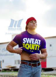 sweat equity unisex tee muscle club apparel